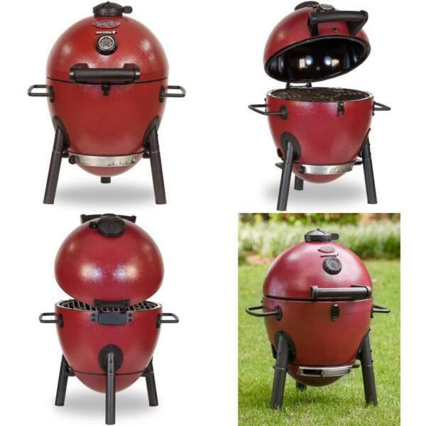 Char Griller Charcoal Grill Red