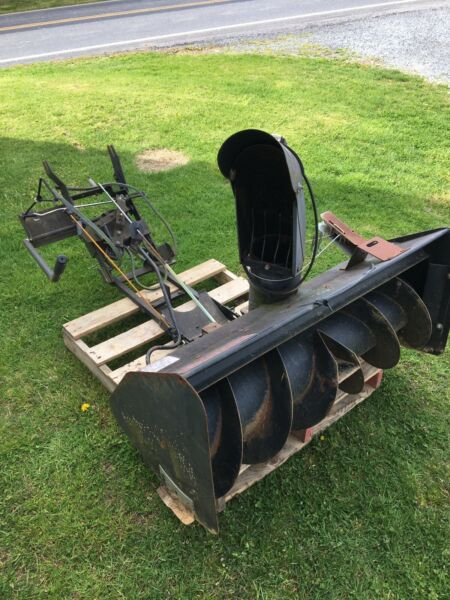 """Sears Craftsman Lawn Mower Tractor 42"""" Front Mount Snow Thrower Model 842.240511"""