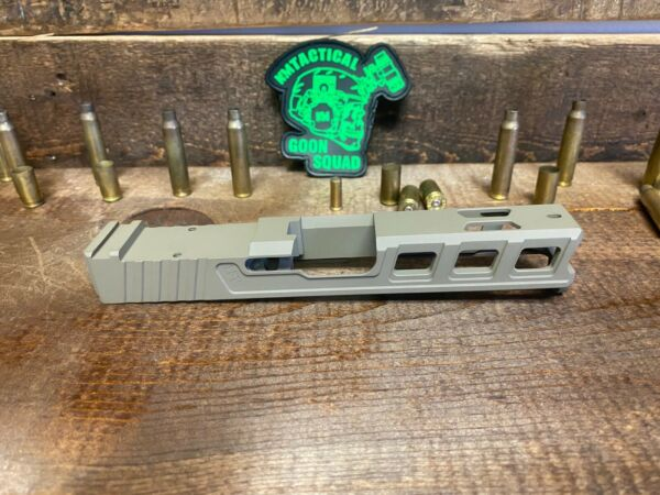 FDE Raptor Series Slide for Glock 19 with RMR Serrations Ports Gen 3 FDE $219.99
