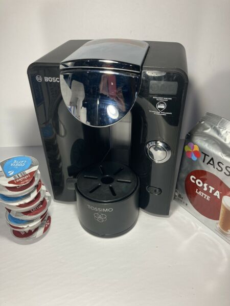 Bosch TA55 T55 Tassimo Coffee Maker TAS5542UC 04 Works Great Rare 04 Model