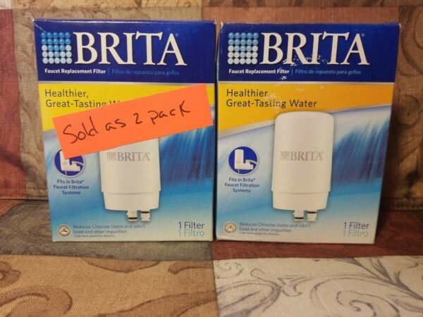 Brita Water Replacement Filter Systems 2 Pack FF 100 OPFF 100 SAFF 100 #sh1