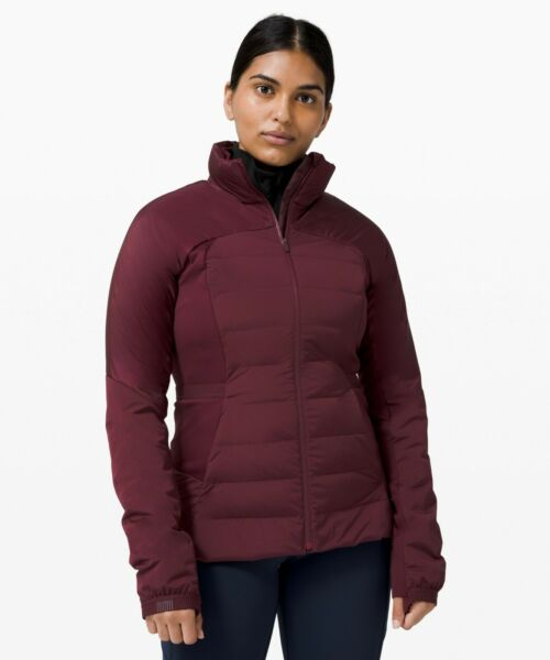 NEW Women Lululemon Down For It All Jacket Size 12 $199.99