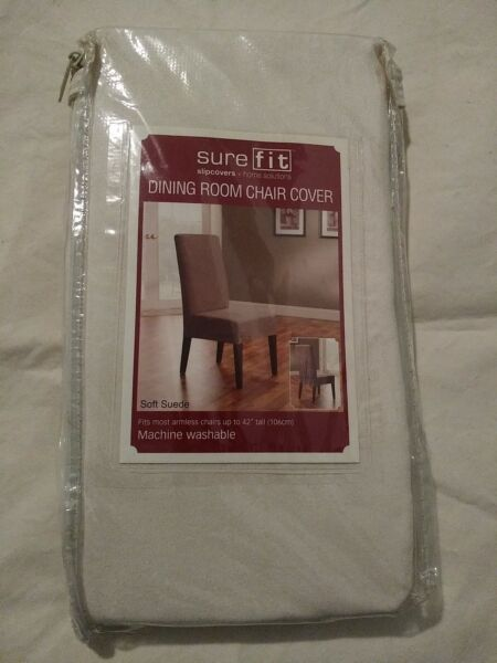 Sure Fit Slip Cover Dining Room Chair Cover By Home Solutions Soft Suede... $15.00