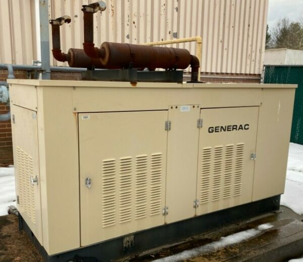 85 KW Generac Generator NATURAL GAS Standby Back up Power Generator