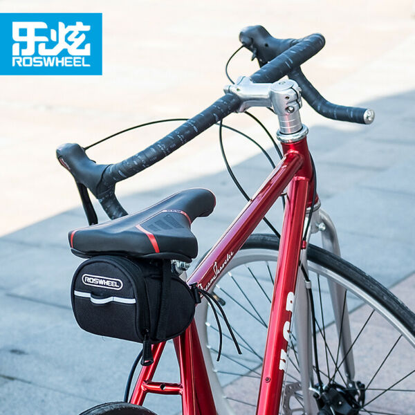 Bike BagBike Saddle BagBicycle Under Seat Pack Cycling Accessories Pouch $9.99