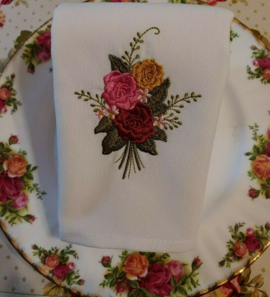 Old Country Roses quot;Royal Albertquot; Napkins Set of 2