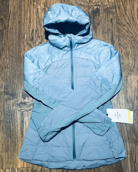 NEW Women Lululemon Down For It All Jacket Size 8 amp; 10 $199.99