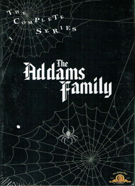 THE ADDAMS FAMILY The Complete Series 9 DVD BOX SET NEW SEALED