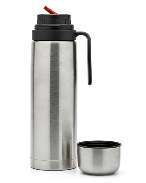BALIBETOV thermos for mate VacuumInsulated With Double Stainless Steel Wal...