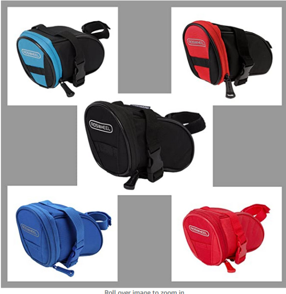 Bike Bag Bike Saddle BagBicycle Under Seat Pack Cycling Accessories Pouch $9.99