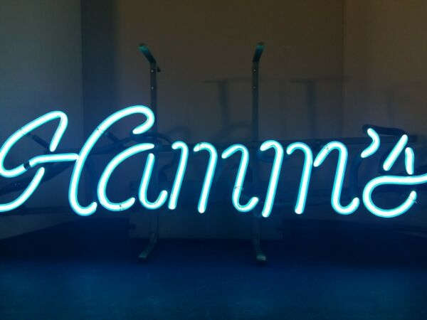 VTG 1960s hamms beer neon light up sign bar game room man cave mn
