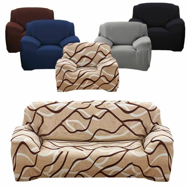 US Stretch Fit Furniture Chair Recliner Sofa Cover Slipcover Couch Protective $21.42