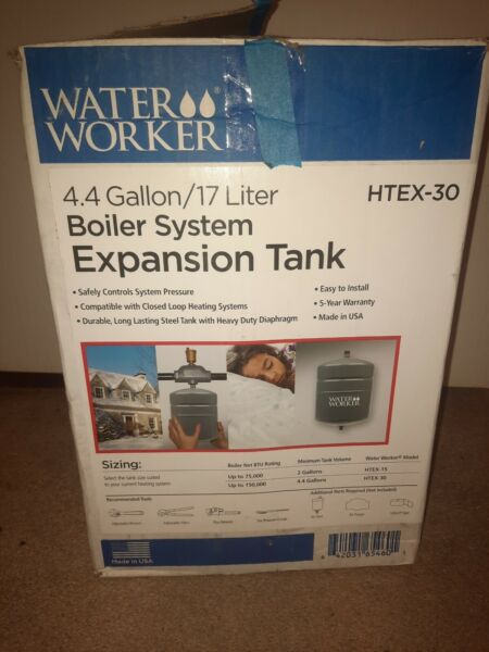 4.4 Gallon HTEX 30 Boiler System Expansion Tank Hot Water Heater $49.99