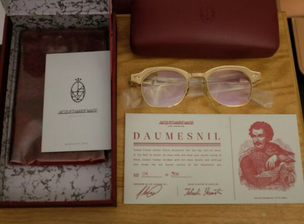 Jacques Marie MageDaumesnil Glasses