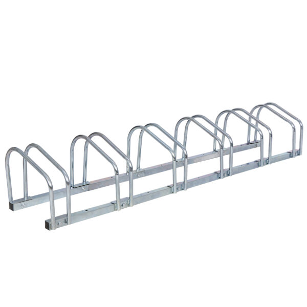 Bike Floor Parking 1 6 Rack Bicycle Storage Organizer Stand Garage Outdoor $39.99