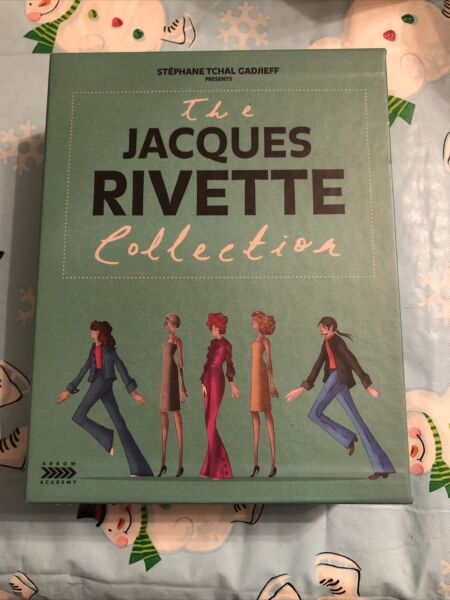 The Jacques Rivette Collection Dual Format Arrow Academy Region A OOP Blu ray