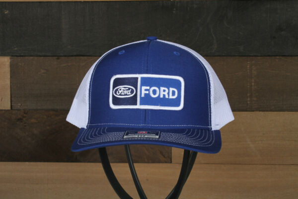 Vintage Ford Patch on a Richardson 112 Trucker Snapback Hat