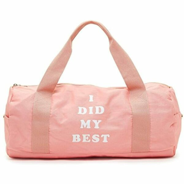 ban.do Work It Out I Did My Best Gym Bag $35.00