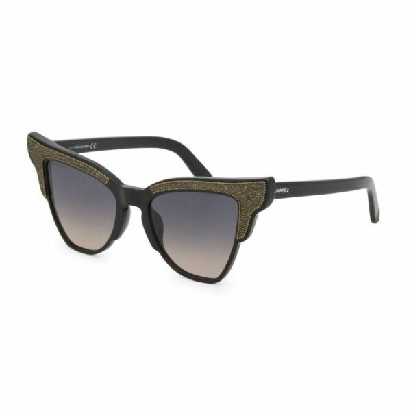 Dsquared2 DQ 0314 Women Gray Sunglasses Acetate Embroided Cat Eyes Eyeglasses $95.99