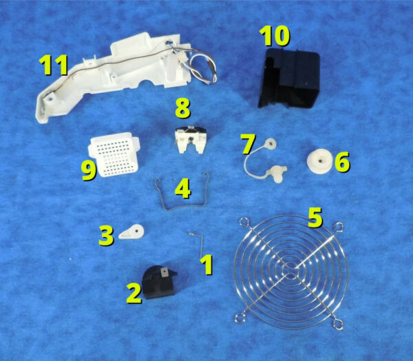 FRIGIDAIRE EFIC108 26lb Countertop Portable Ice Maker Replacement Parts