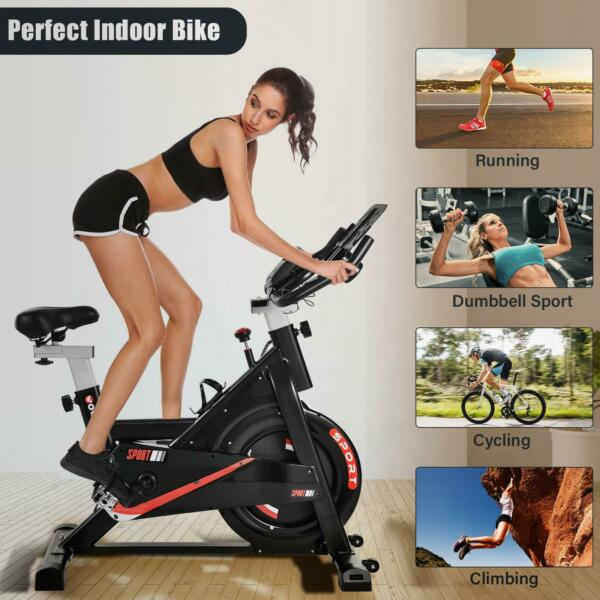 Exercise Bicycle Indoor Bike Cycling Cardio Adjustable Gym Workout Fitness Home $249.99