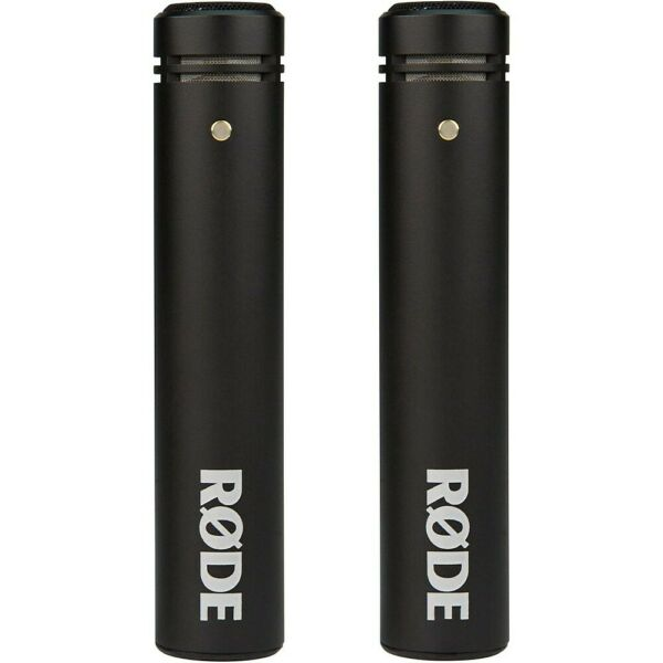 Rode Microphones M5 Compact 1 2quot; Condenser Microphone Matched Pair $199.00
