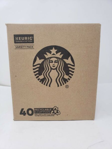 Starbucks K Cup Coffee Pods VARIETY PACK 40 PODS