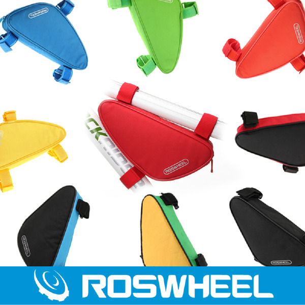 Outdoor Triangle Cycling Bicycle Bike Bag Front Tube Frame Bag Mountain Pouch $9.99