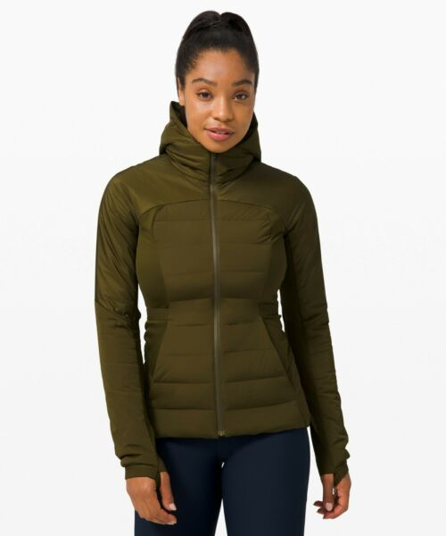NEW Women Lululemon Down For It All Jacket Size 10 $199.99