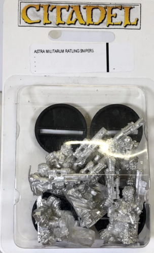 Warhammer 40k Imperial Guard Astra Militarum Ratlings Snipers x5 gt;NEW in BOXlt;