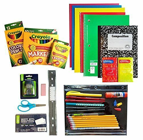 Back To School Supplies Pack 3rd Through 5th Grades