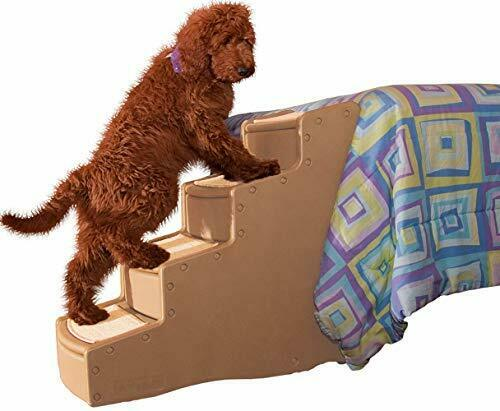 4 Steps Pet Stairs For Cats Dogs Small And Large Portable Lightweight Sturdy New