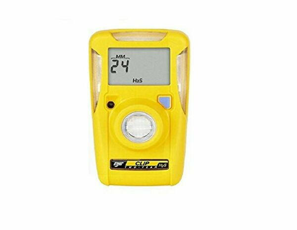 BW Technologies BWC2 H BW Clip Single Gas H2S Monitor 10 15 1 Pack