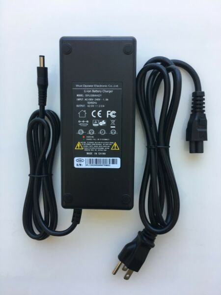 E Glide SS Electric Bike HD 36 42 Volt Lithium Battery Charger $42.00