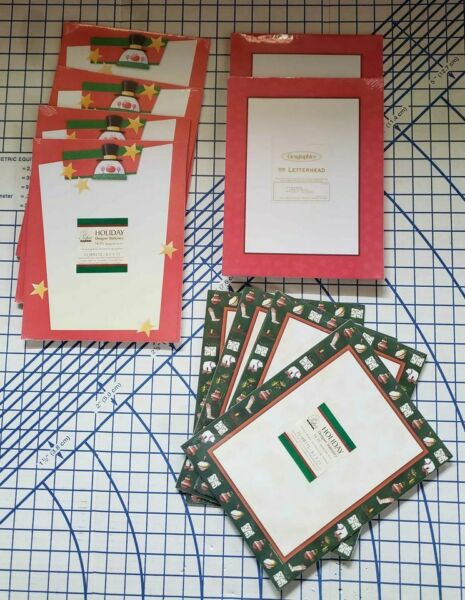 10 packs of Christmas Stationary for Printers amp; Copy Machines NEW $20.00