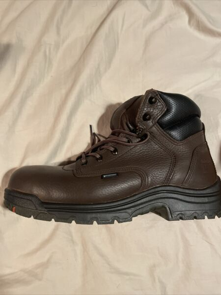 Timberland PRO Titan 6quot; Alloy Safety Toe Oil Resistant Work Boots Size 10.5 $124.99