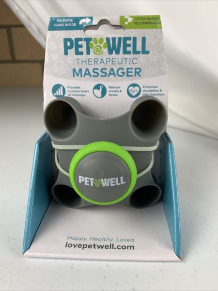 PET WELL Therapeutic Dog Cat Massager $11.48