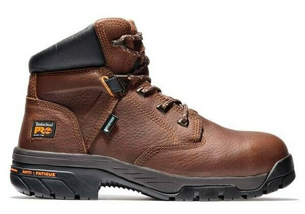 NEW Timberland PRO Men#x27;s 6quot; Helix Safety Toe Waterproof Boots FAST SHIPPING $109.00