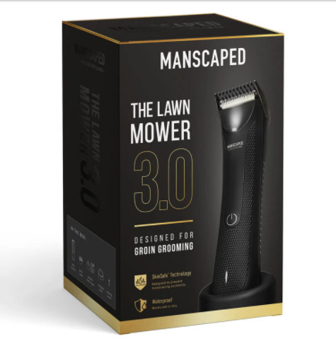 MANSCAPED The lawn mower 3.0 rechargeable wet dry hair trimmer BLACK $53.99