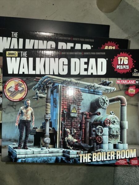 The walking dead action figures The Boiler Room $25.00