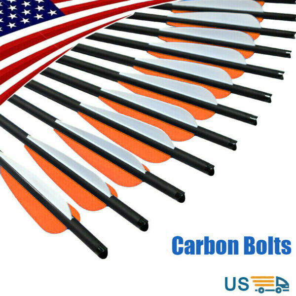 Carbon Express Pile Driver 16 20#x27;#x27; Hunting Crossbow Bolts Archery Arrows 12 24pk $28.99
