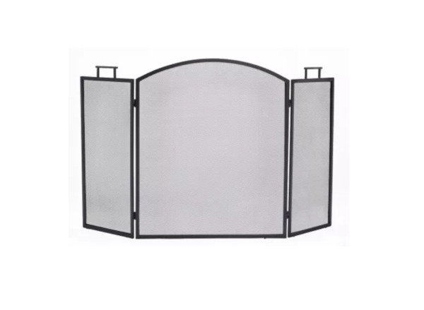 Pleasant Hearth Classic Fireplace Screen 31quot; W x 52quot; H