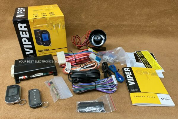 NEW Viper 5706V 2 Way LCD Remote Start and Security System