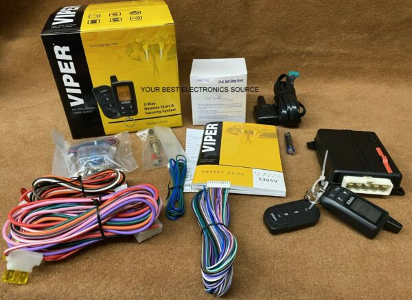 NEW Viper 5305V 2 Way Paging Remote Start Keyless Entry Vehicle Security System