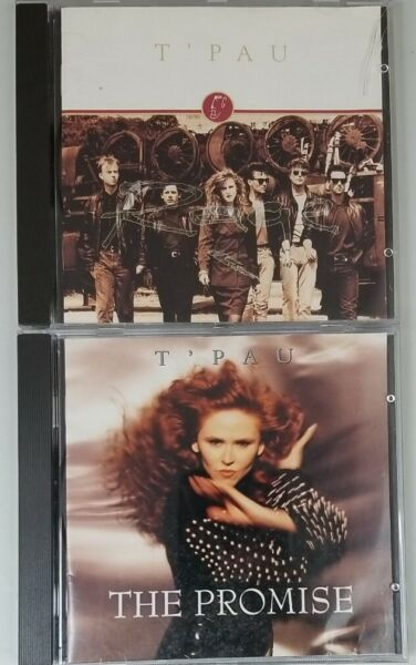 T#x27;Pau Cd Lot The PROMISE Rage Carol Decker