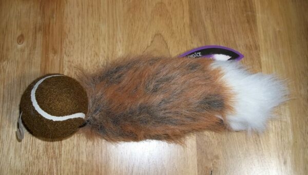 Premier Pet TENNIS TAILS Dog Fetch Toy Medium NEW Old Stock $5.00