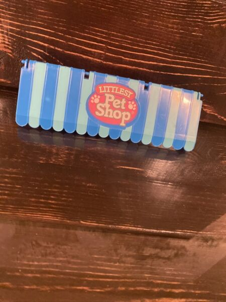 VINTAGE LITTLEST PET SHOP STORE CASE replacement awning