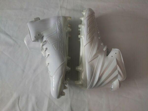 Adidas Freak X Carbon High Cleat Men#x27;s Football Cleats White Size 12.5 BW0956 $68.95