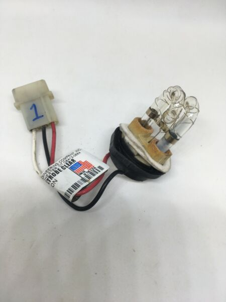 TWO Whelen Replacement Strobe Clear S30HAC USED
