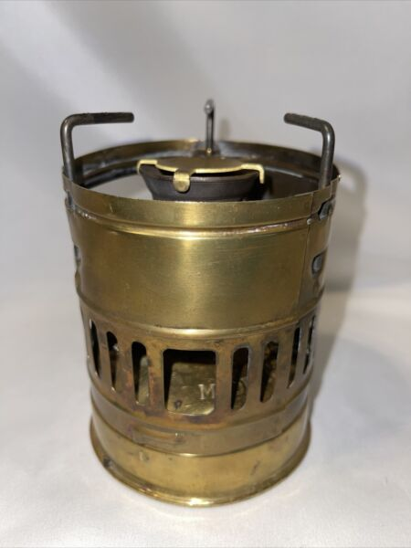 Vintage Optimus SVEA 123 Backpack Camping White Gas Stove Sweden. TR68